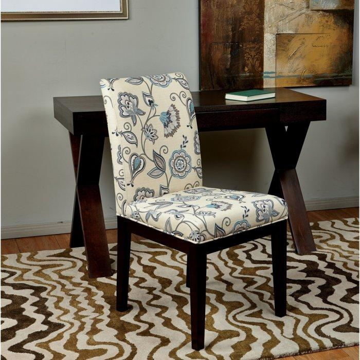 Floral Dining Room Chairs: Dining Chairs – Classic And Modern Examples