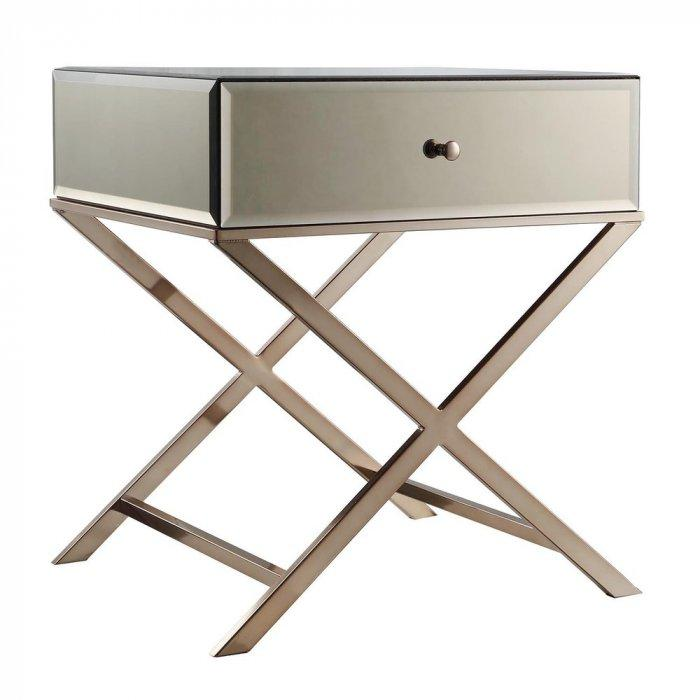 Accent tables for stunning modern living rooms founterior for Functional side table