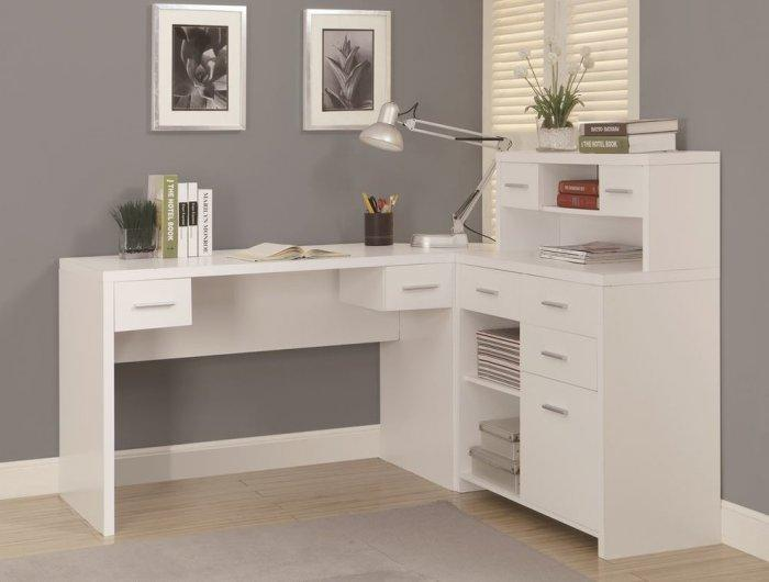IKEA corner desk - with hutches