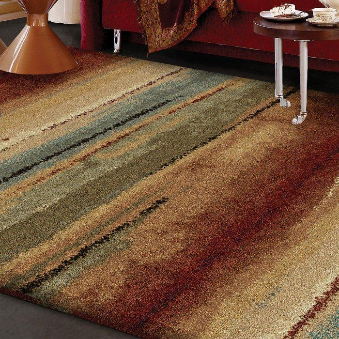 Italian area rug - in colorful patterns