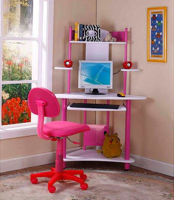 Kid's corner desk - for girls