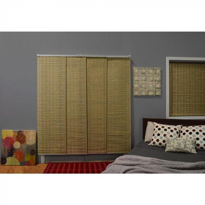 Large bedroom blind - made of four pieces