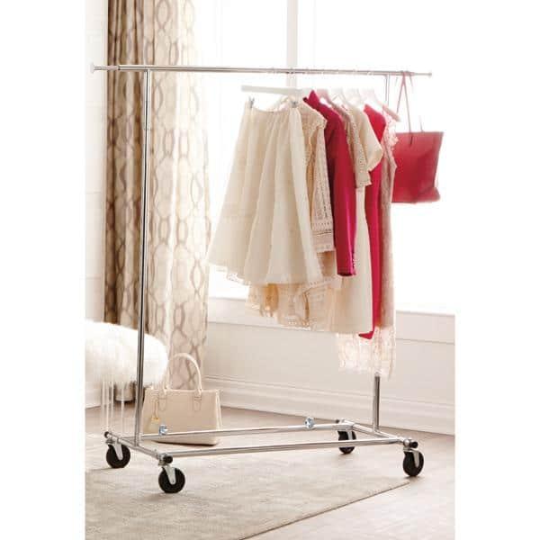 Charming Mobile Closet Organizer   For Dresses