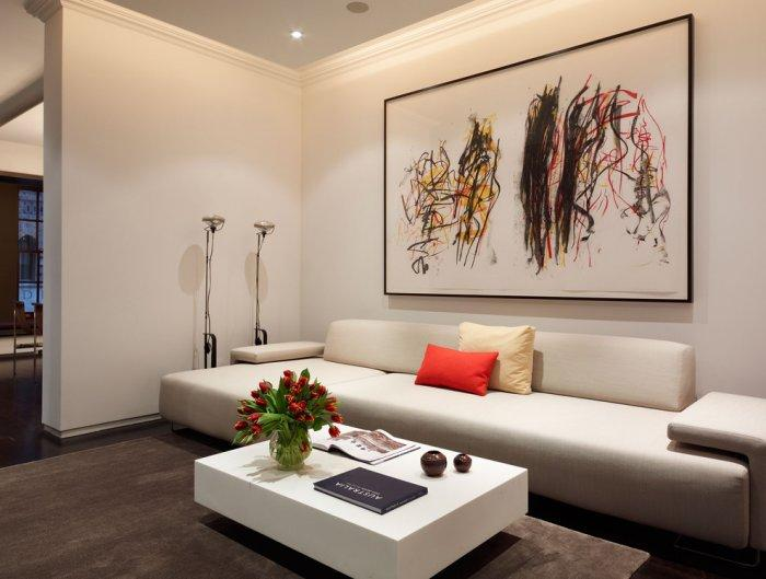 Modern wall painting - for living room