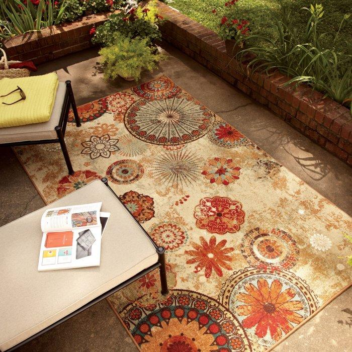 Outdoor area rug - in various colors