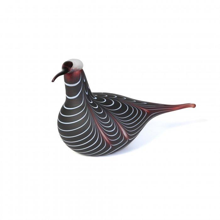 Pheasant glass figurine - with beautifu colouration