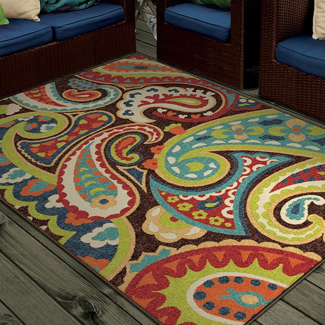 Psychedelic area rug - in colorful patterns