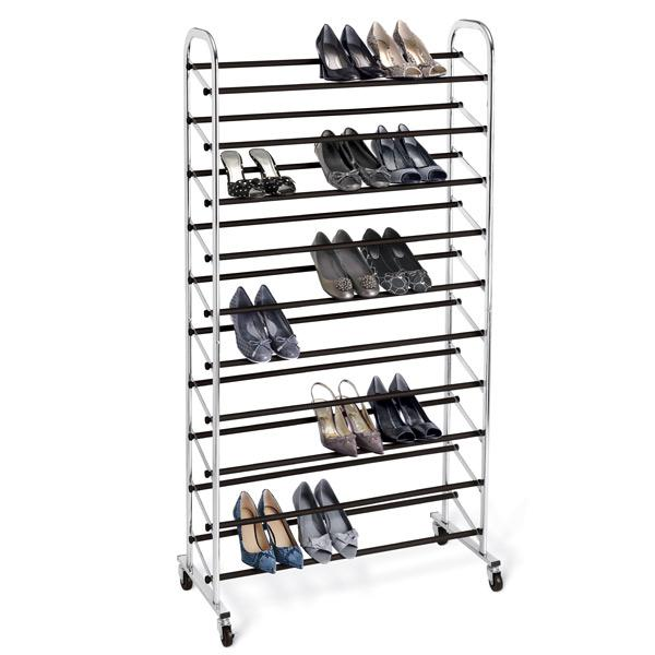 Shoes rack closet organizer - for floor placement