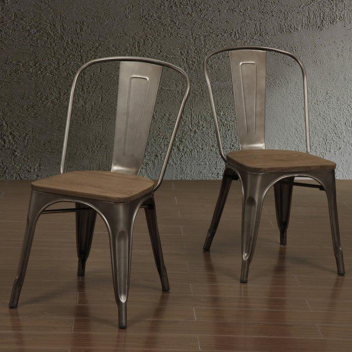 Urban dining chair - with vintage accents