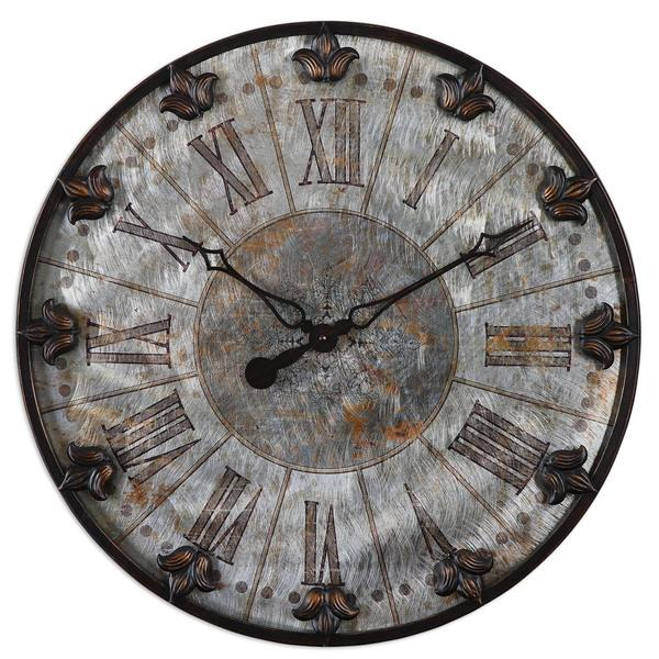 vintage wall clock with old arrows