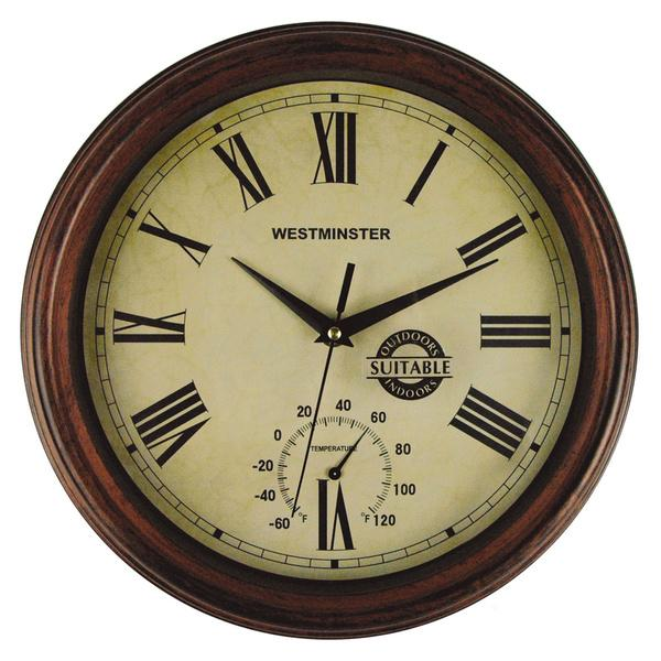 Westminster wall clock - with vintage look
