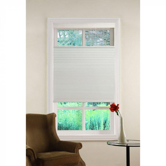 White Bedroom Blind – On A Narrow Window