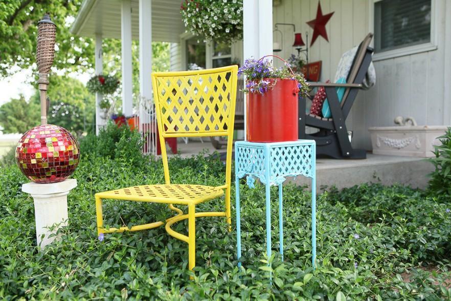 Metal Outdoor Furniture for your Summer Garden