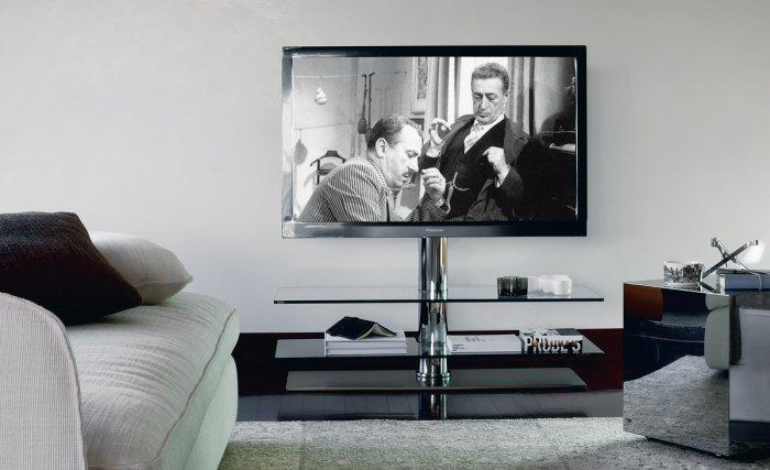 Glass TV stand - for flat screen