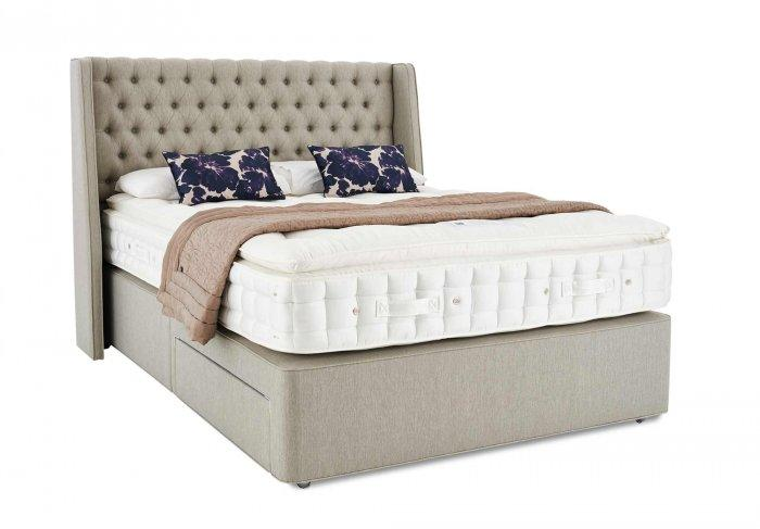 Large queen size bed - with traditional design