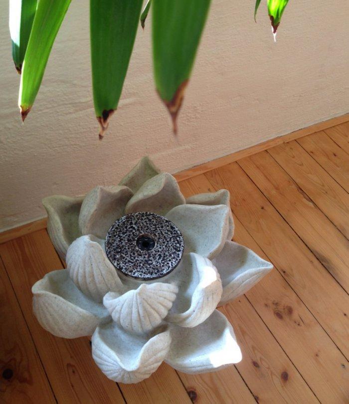 Lotus indoor fountain - for balcony
