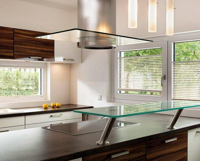 Modern kitchen blinds - for flats