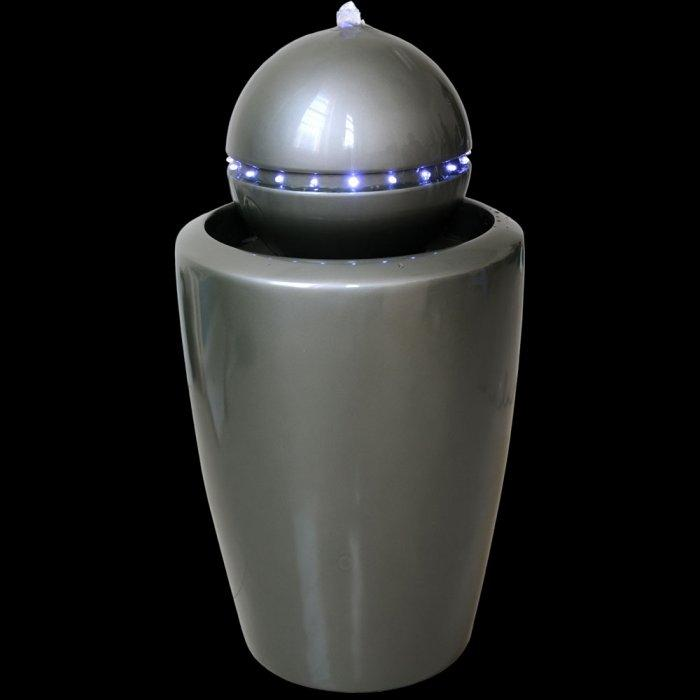 Space indoor fountain - looking like a robot