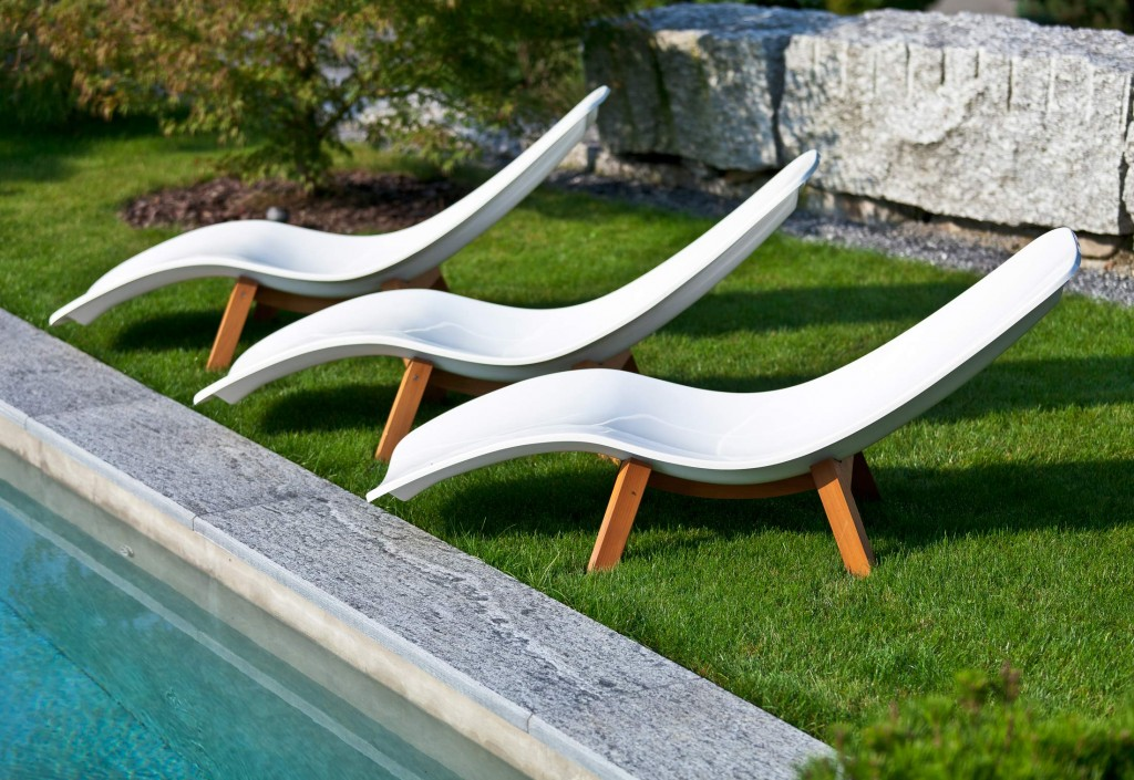 Modern Contemporary Chaise Lounge Velvet Fabric Chair ...
