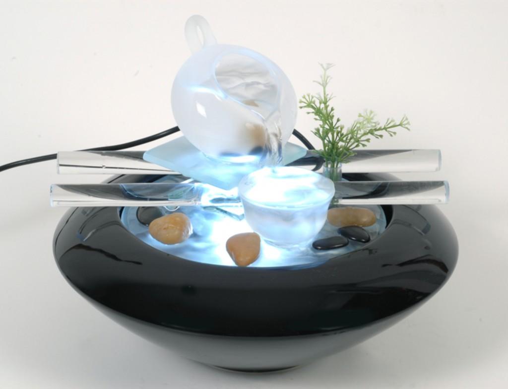 Zen indoor fountain - with pebbles