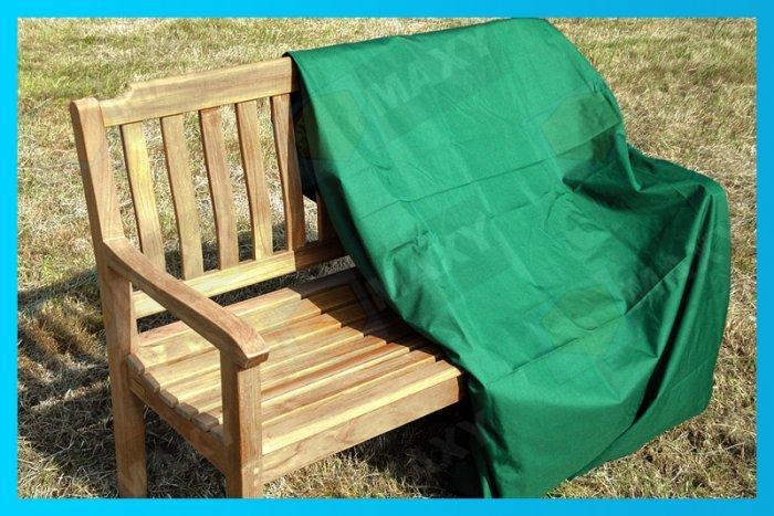 Bench patio furniture cover - in green