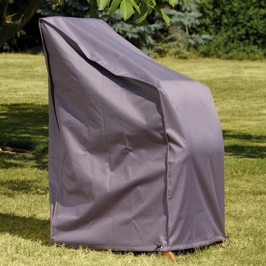 Chair patio furniture cover - in gray