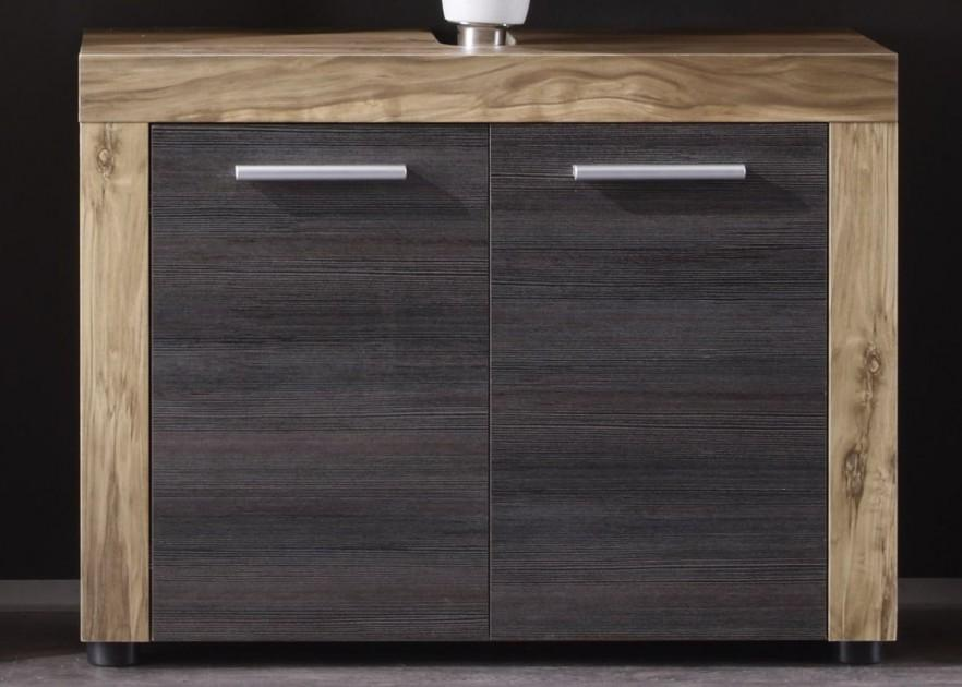 Contemporary bathroom vanity - with two doors