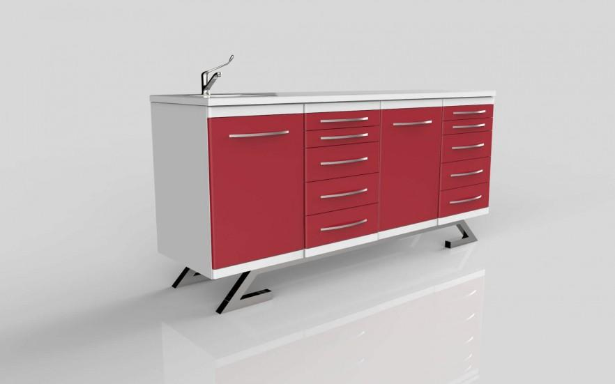 Futurist file cabinet - with drawers