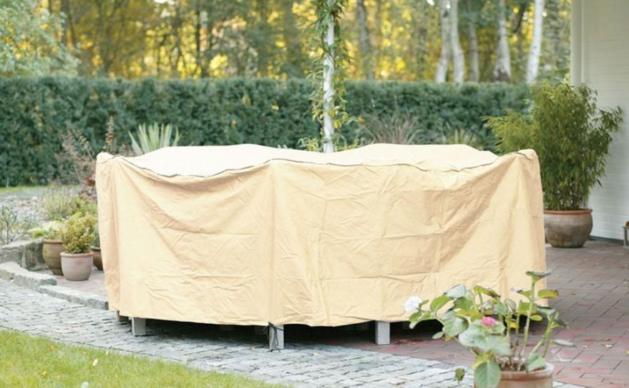 Garden patio furniture cover - for table