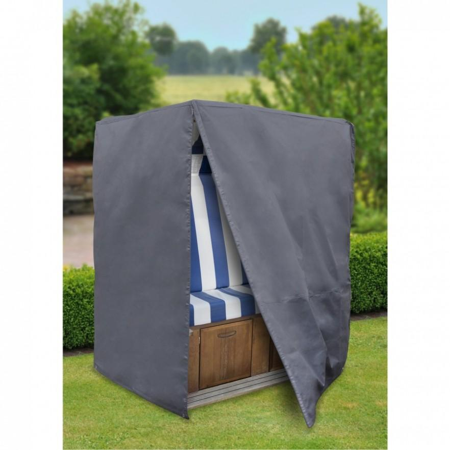 Handy patio furniture cover - in gray