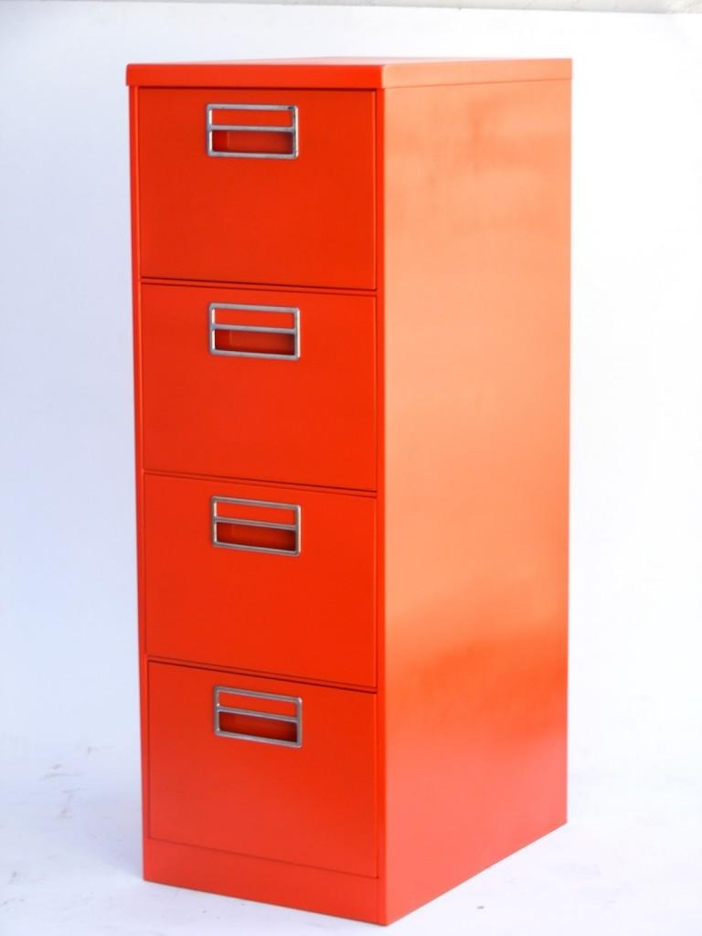 High file cabinet - with 4 drawers