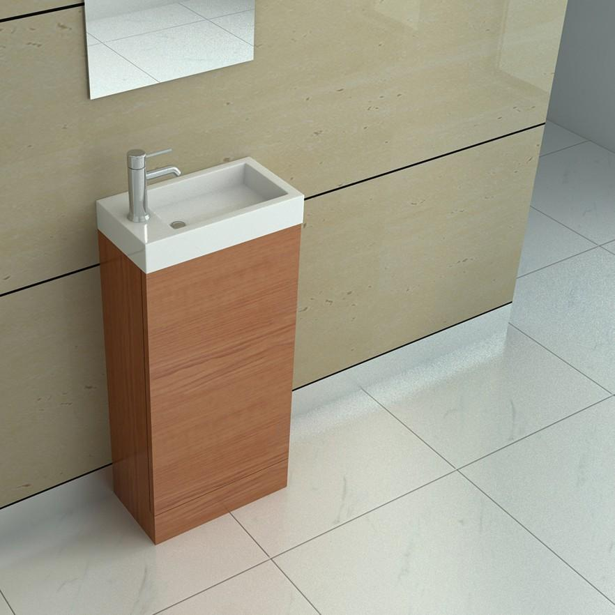 Small bathroom vanity - minimalist design