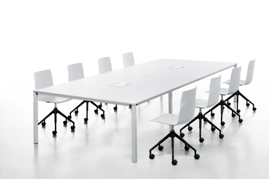 White conference room table   with chairsModern Conference Room Tables   Office Furniture   Founterior. Meeting Room Table And Chairs. Home Design Ideas