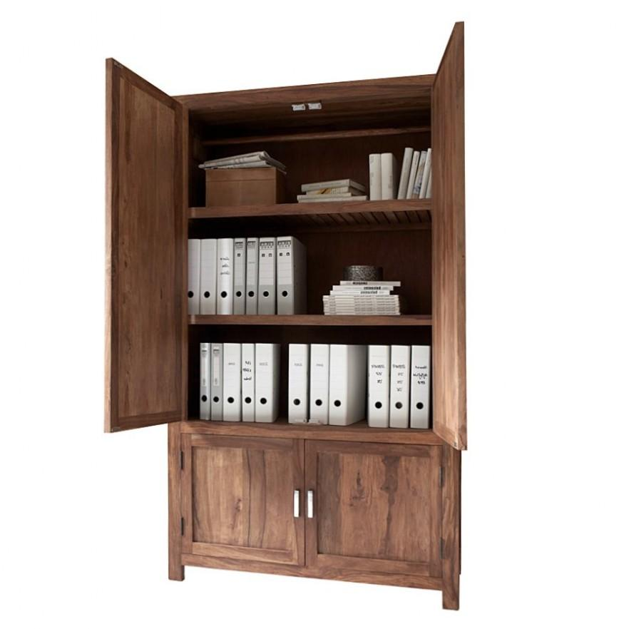Wood file cabinet - for office