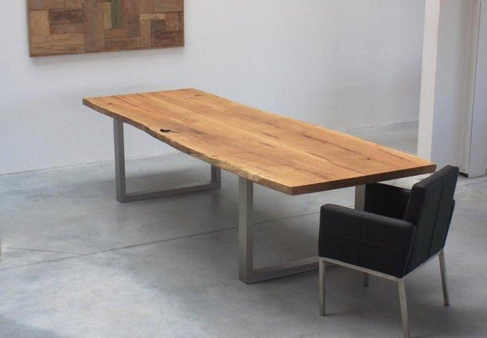 Wooden Conference Room Table Small Size