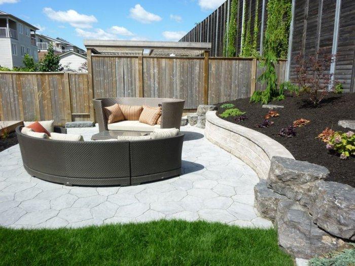 Modern backyard ideas