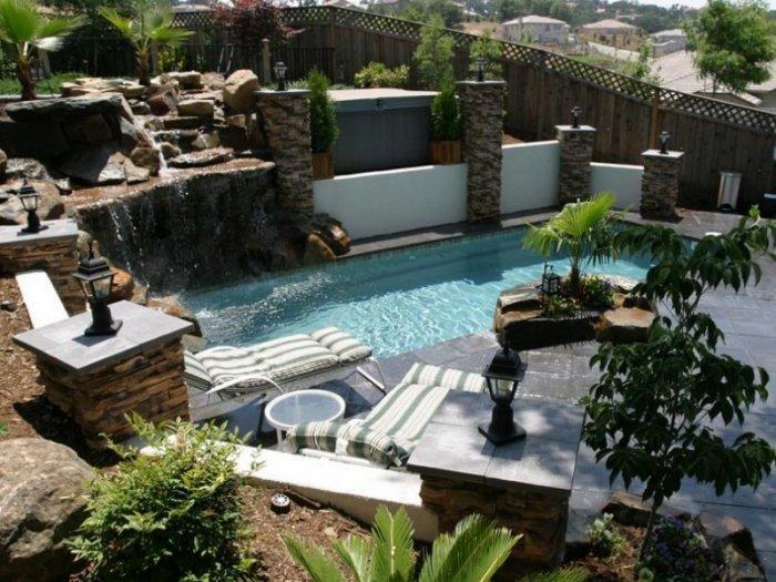 Backyard Design Ideas with swimming pool