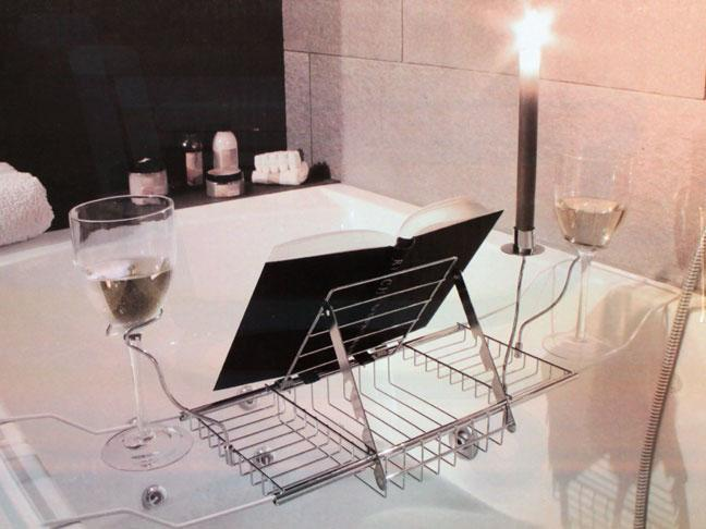 Bath Caddy with place for books