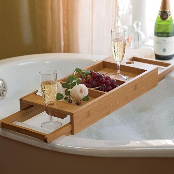 Wooden Bath Caddy 6