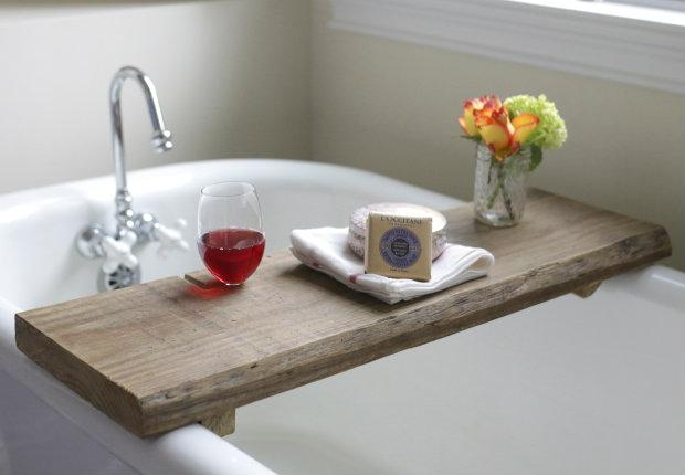 Rustic Caddy for Bath