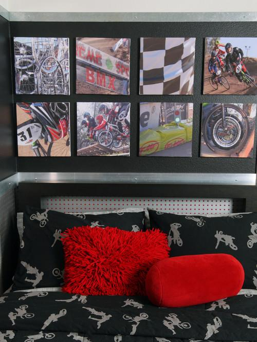 Canvas print for teen room