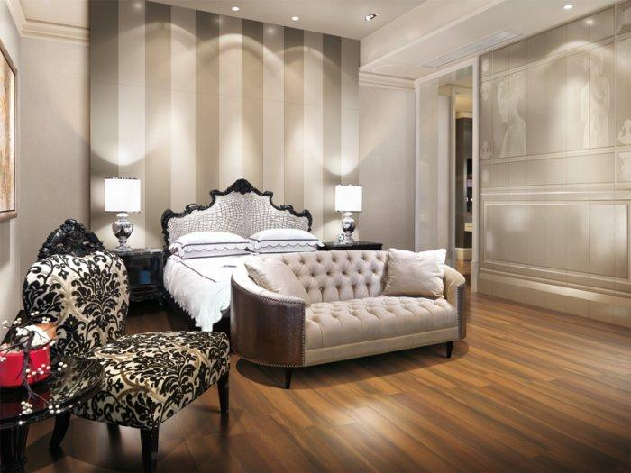 Classic fitted bedroom - with classic furniture