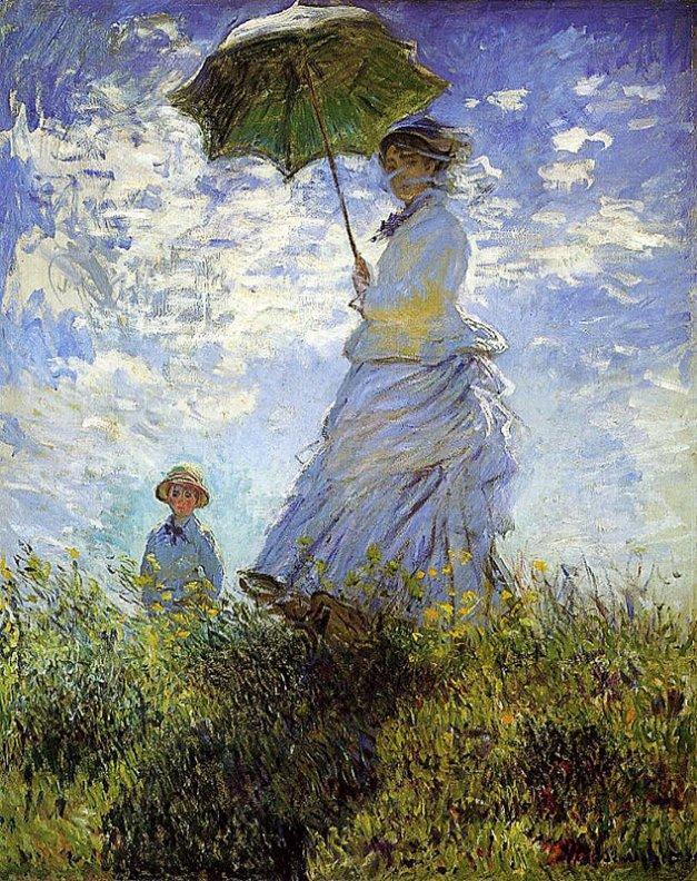 Claude Monet - Camille Monet