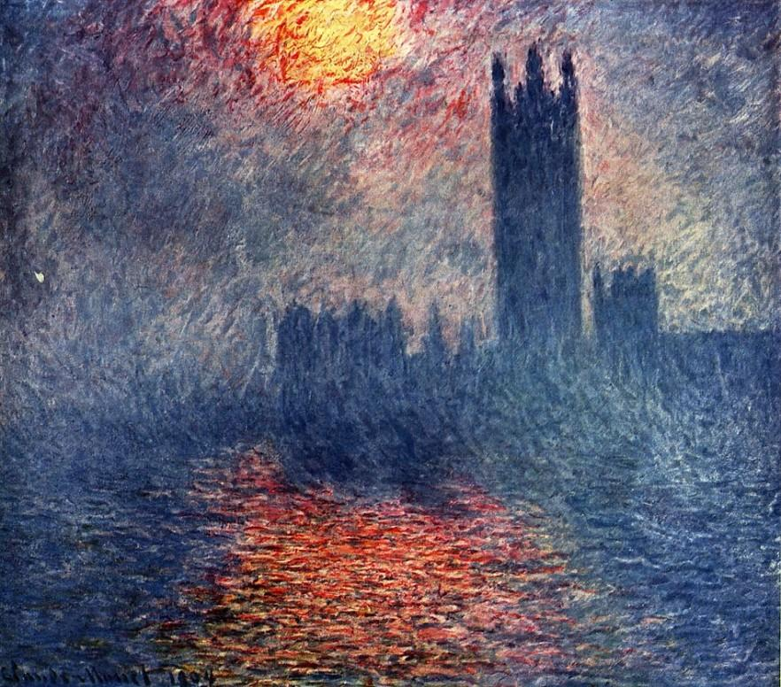 Claude Monet - London Parliament