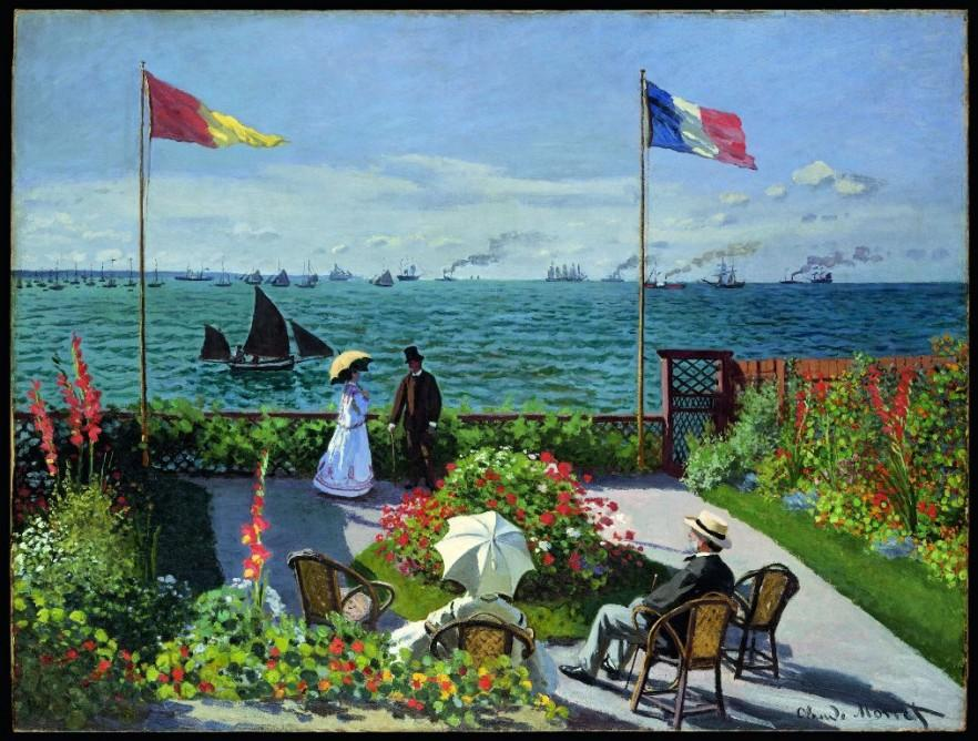 Claude Monet painting 1