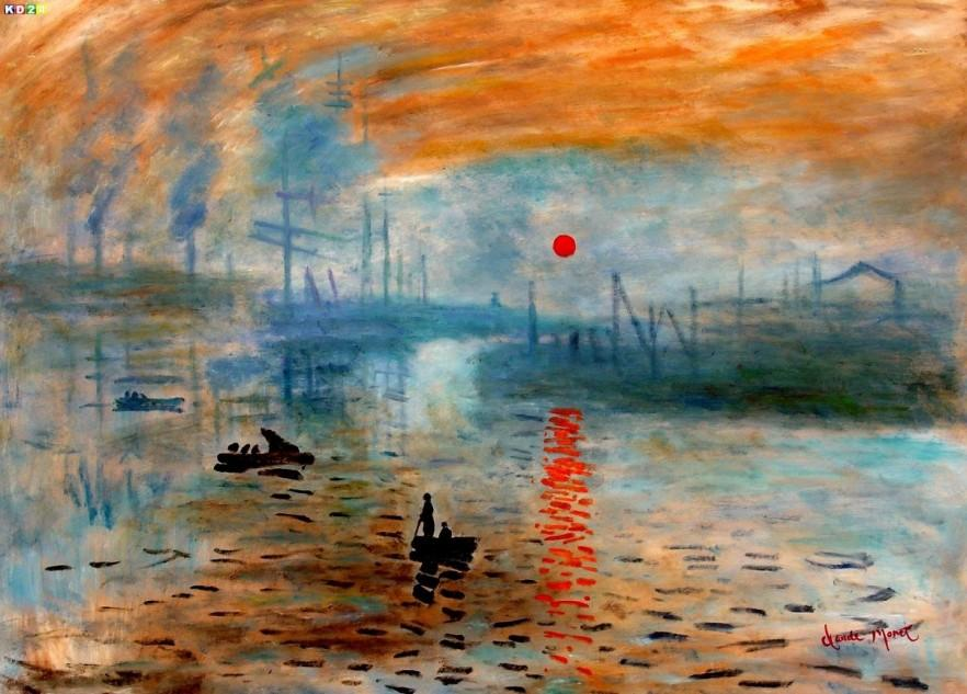 Claude Monet painting 2