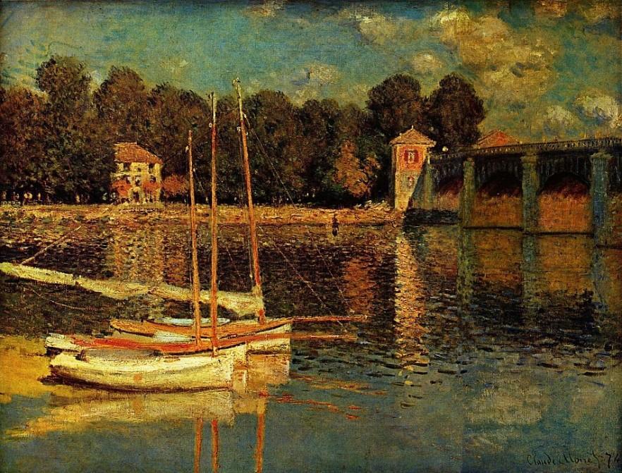 Claude Monet painting 3