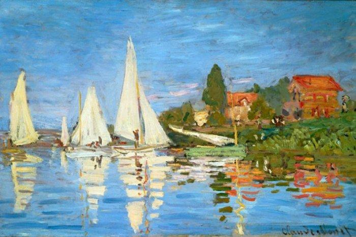 Claude Monet - The Regatta at Argenteui