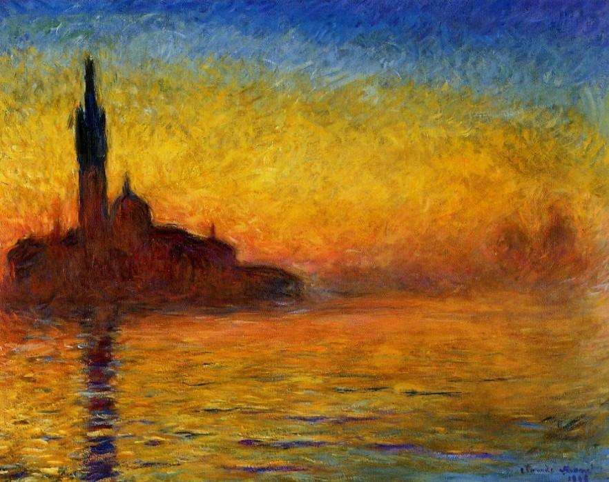 Claude Monet - Twilight Venice