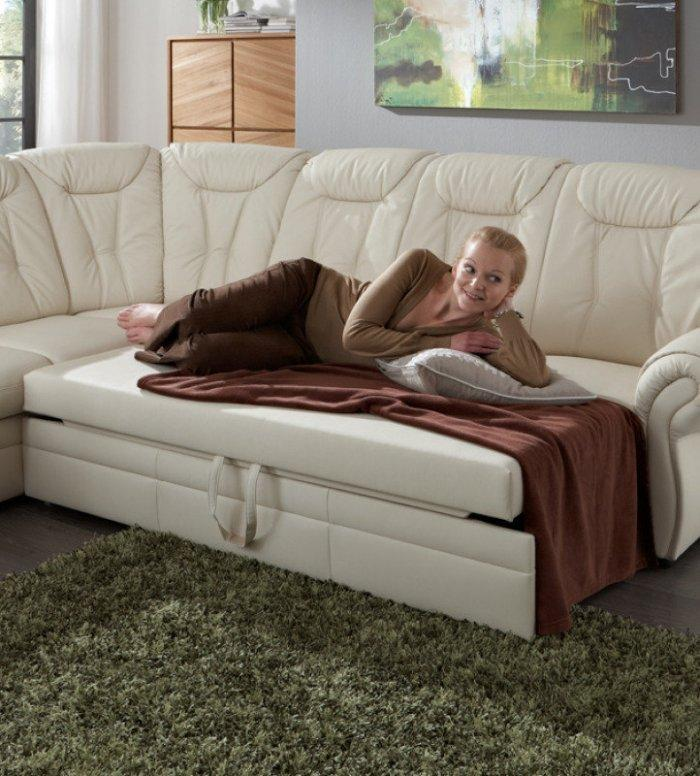Comfortable corner sofa - for living room